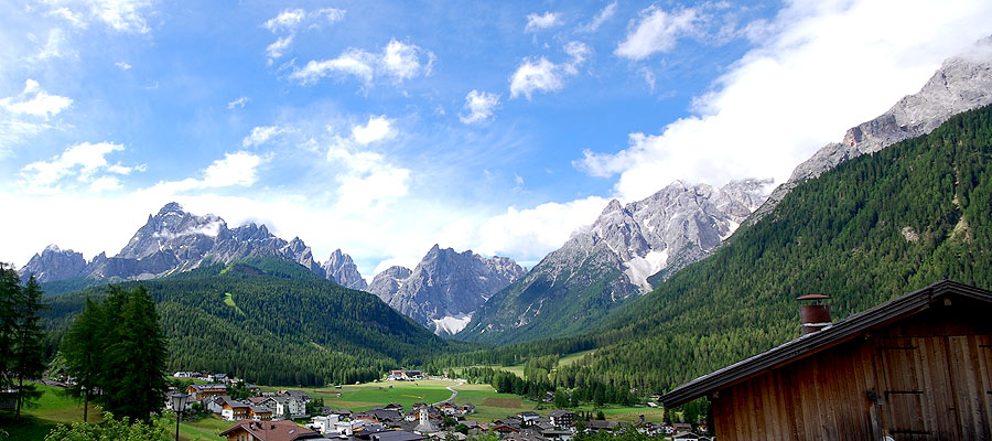 Villgrater am Ort: Farm holidays in Sesto Moso - Alta Pusteria - South Tyrol